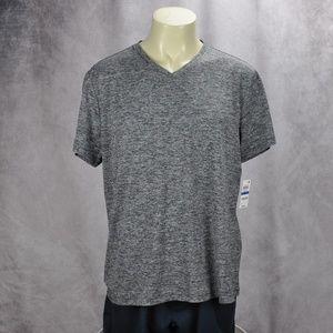 Alfani V-Neck Moisture Wicking T-Shirt